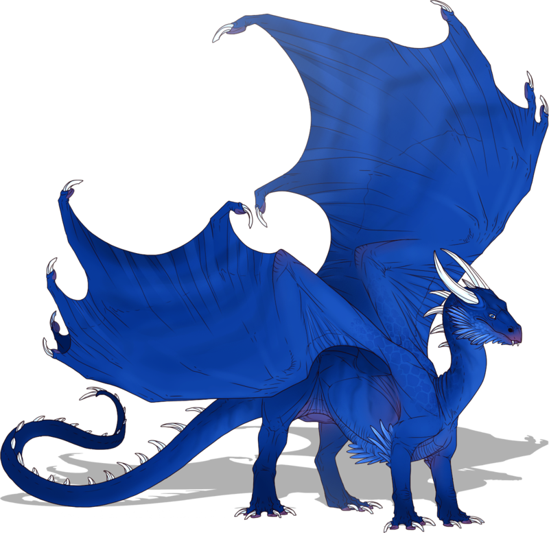 Saphira by ulven f. Eragon drawing clip freeuse stock