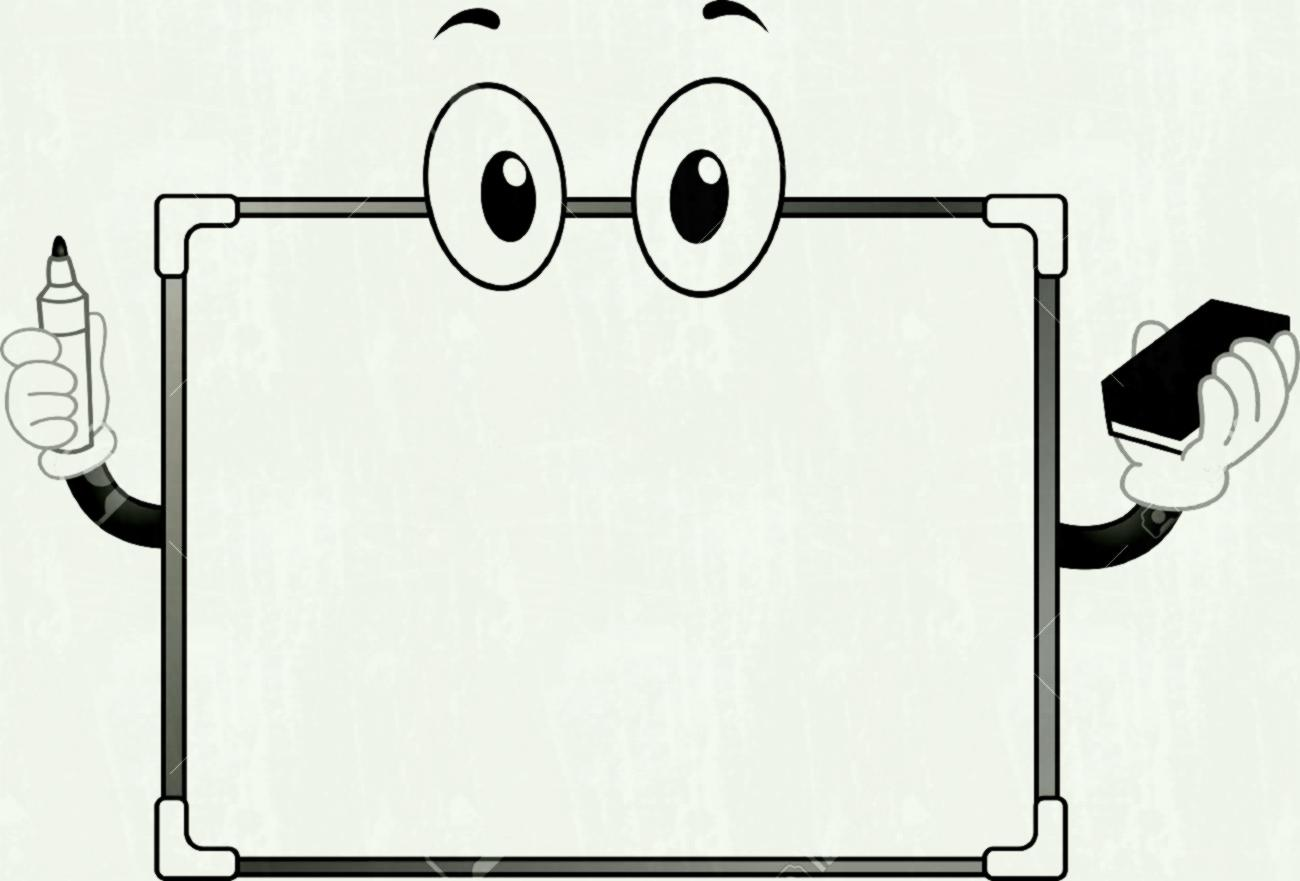 Marker clipart small whiteboard. Eraser pencil and in
