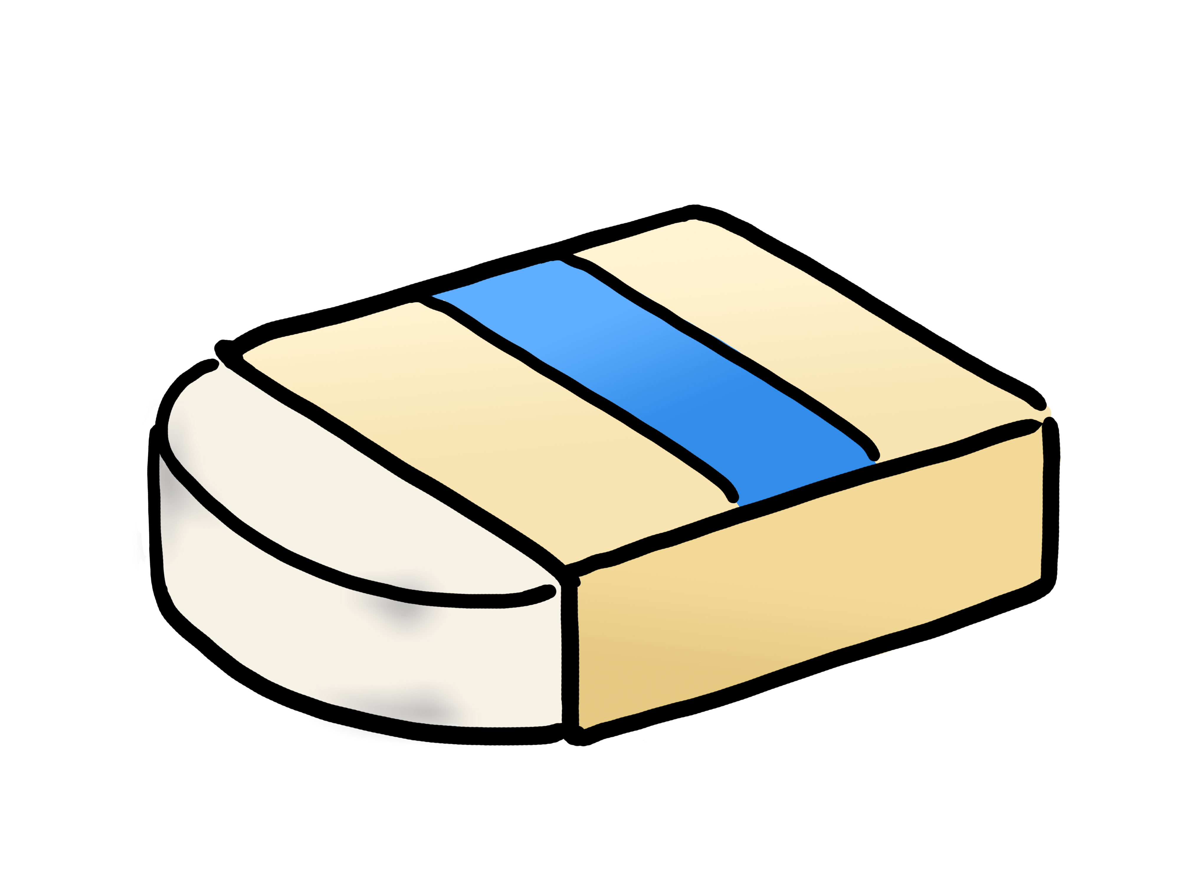 Eraser clipart stationary. Free images wikiclipart