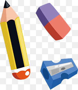 eraser clipart stationary