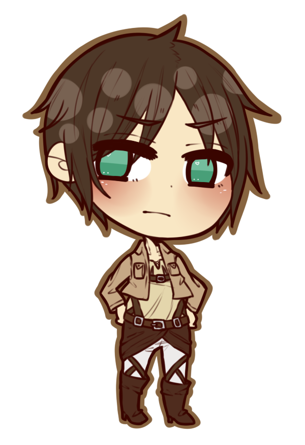 Eren drawing. Chibi attack on titan