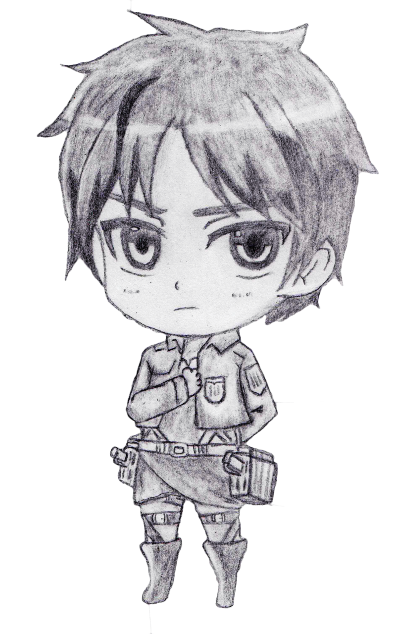 Eren drawing. Collection of jaeger