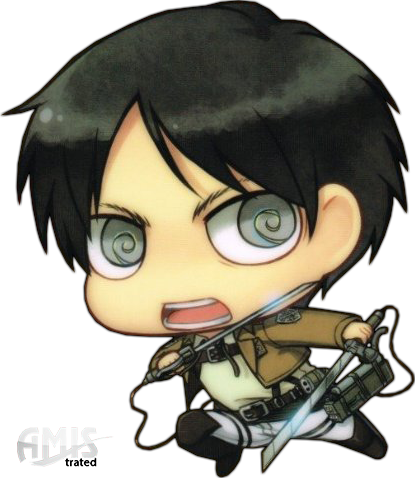 Eren drawing chibi. Snk jaeger by amistrated