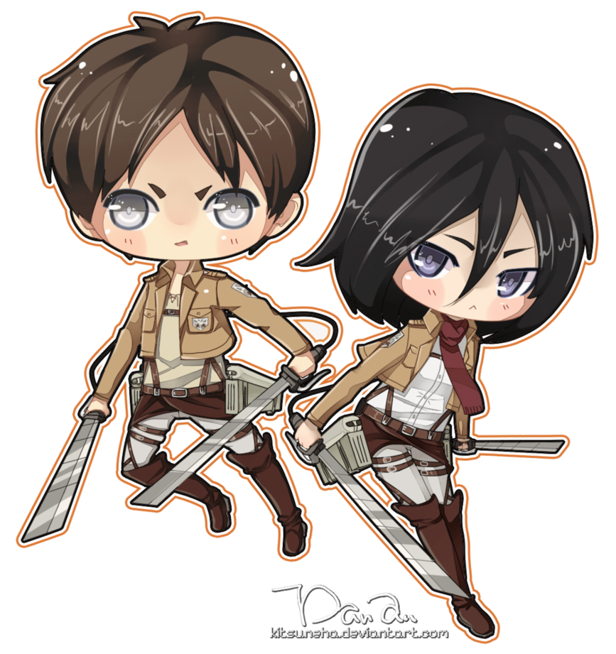 Eren drawing ackerman. Kawaii mikasa and