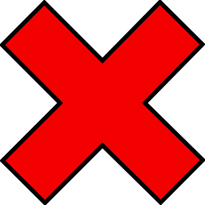 Error transparent incorrect. Png wrong cross images