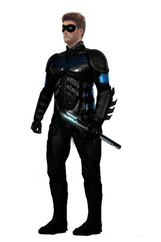 Escrima sticks nightwing png. Scott eastwood with stick