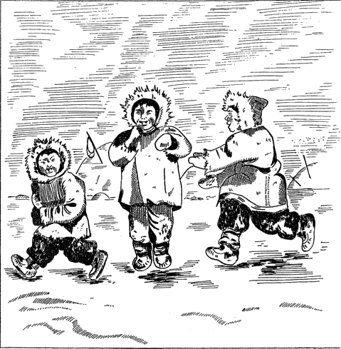 Eskimo drawing inuit clothing. The book of wisdom