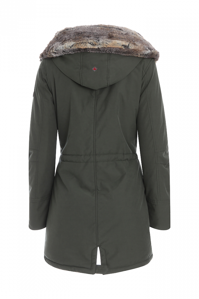 Eskimo drawing parka coat. Audry w canadiens online