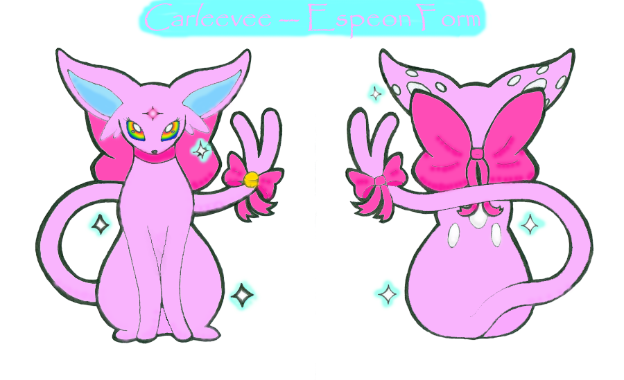 Espeon gem png. Carleevee form by ladyfoxling