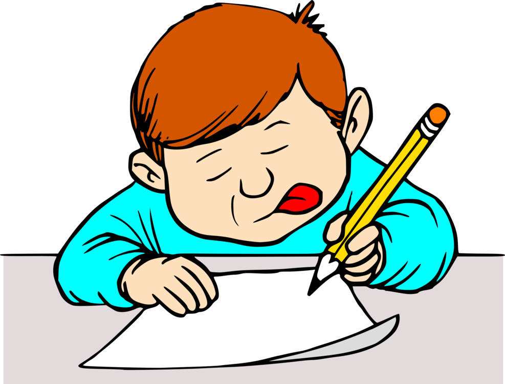 Homework clipart handwriting. Creative writing letter computer