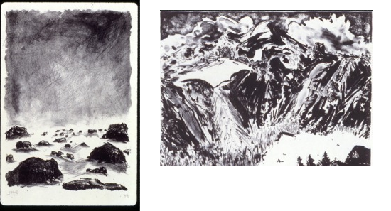 Etching drawing intaglio. Printmaking blair folts the