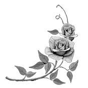 Etching drawing rose. Welcome to muskogee marble