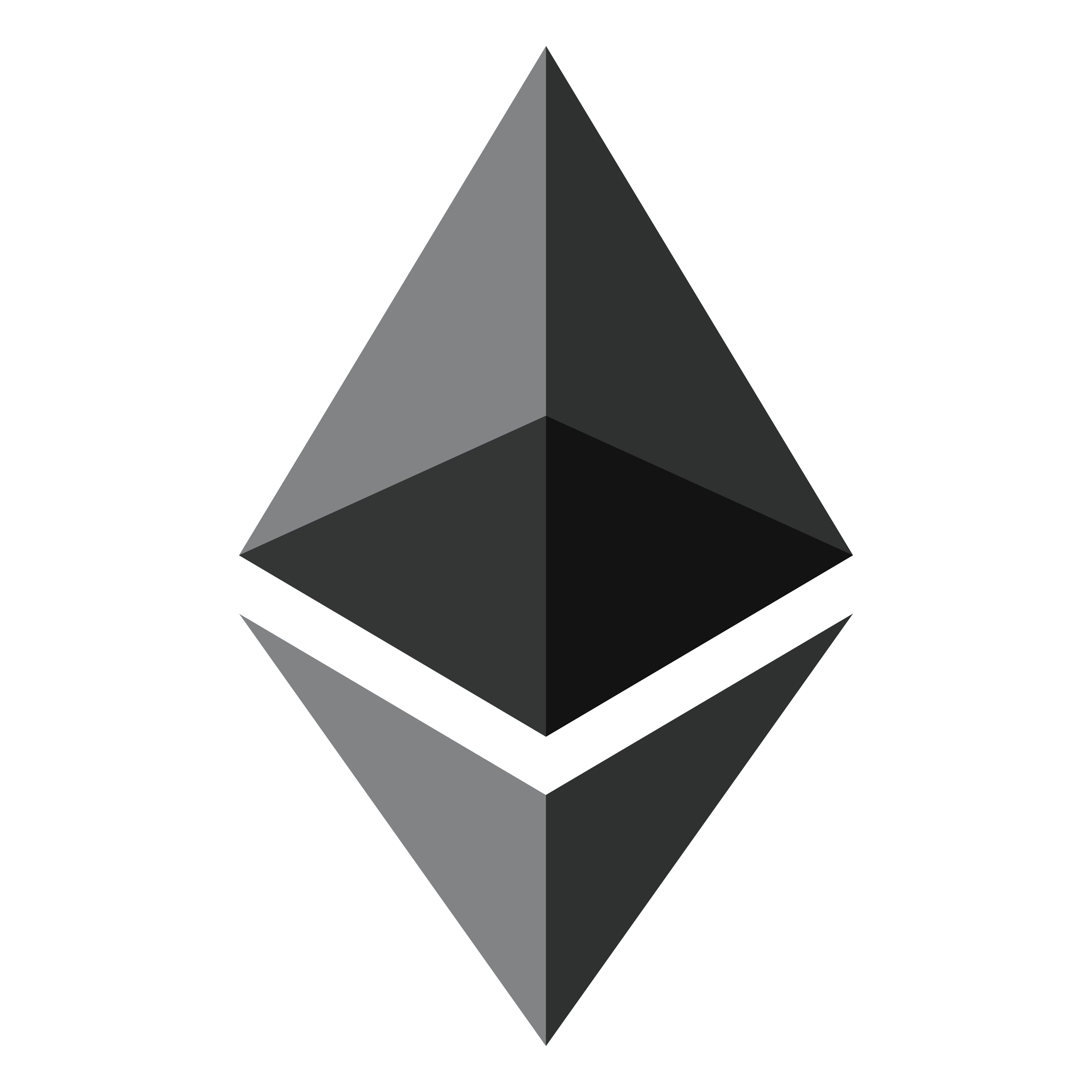 Ethereum logo png. Cryptocurrency initial offering icon