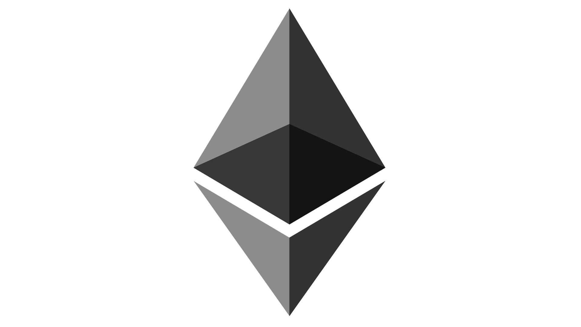 Ethereum logo png. Symbol meaning history and