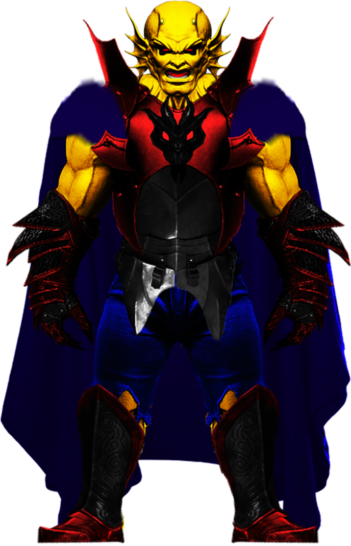 Etrigan the demon png. Image one minute melee