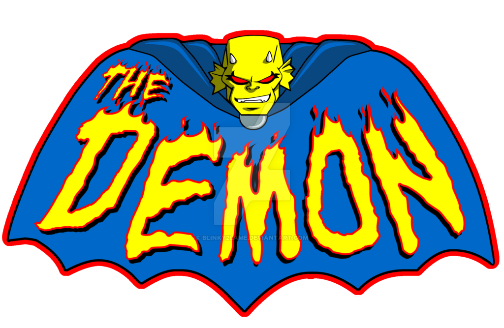 Etrigan the demon png. Logo design by blinky