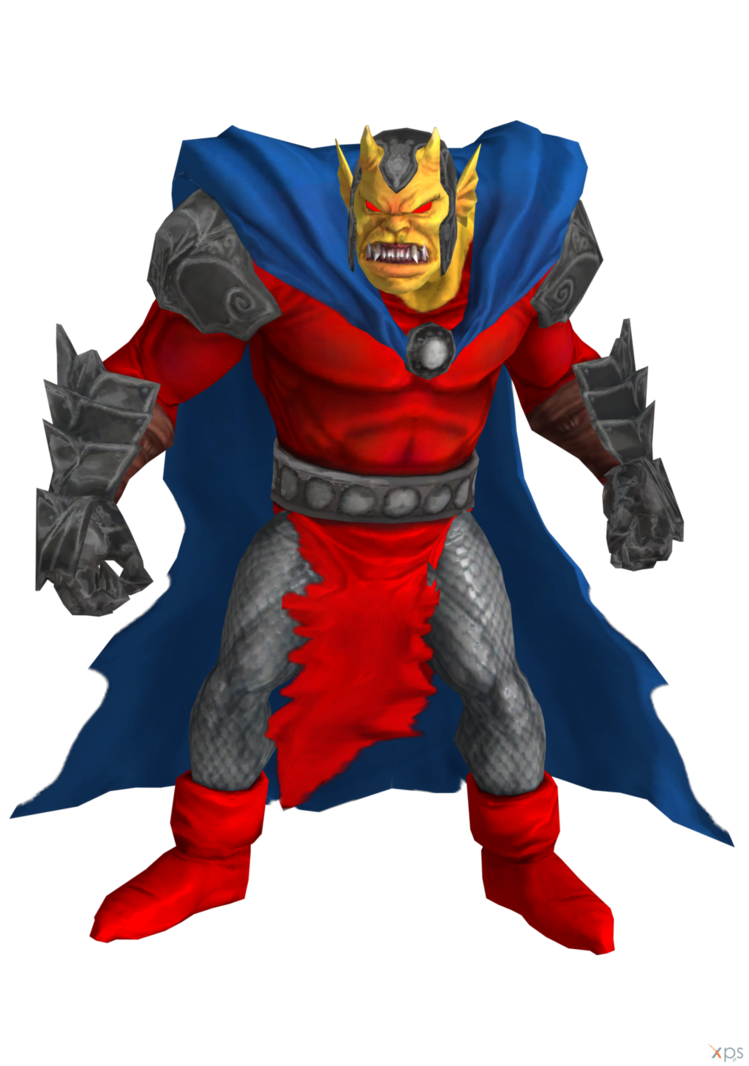 Etrigan the demon png. Dc universe online by