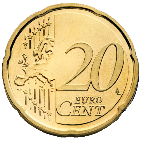Euro coins png. Image cent coin collecting