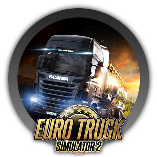 Euro truck simulator 2 logo png. Icon by blagoicons on