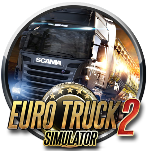 Euro truck simulator 2 logo png. V by c d