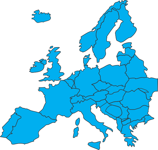 blank map of europe png