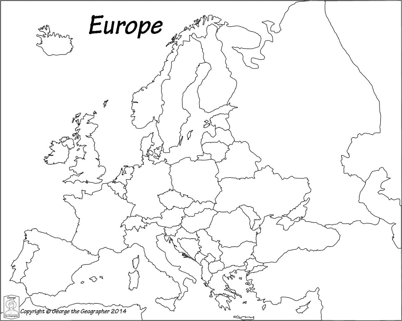 Europe clipart blank, Picture #30643 europe clipart blank