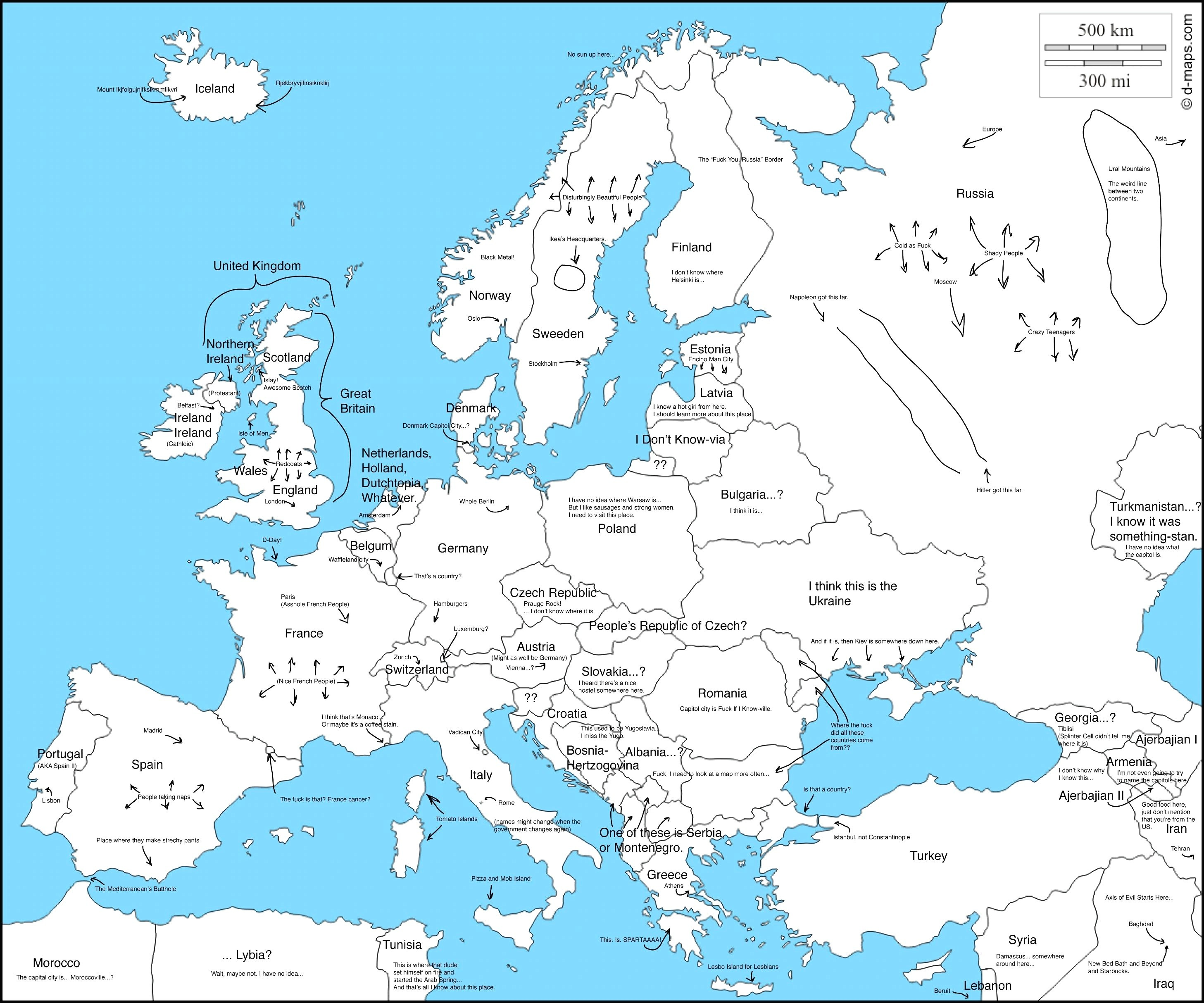 Labeled Europe Map Blank.Europe Clipart Labled Picture 1588742 Europe Clipart Labled