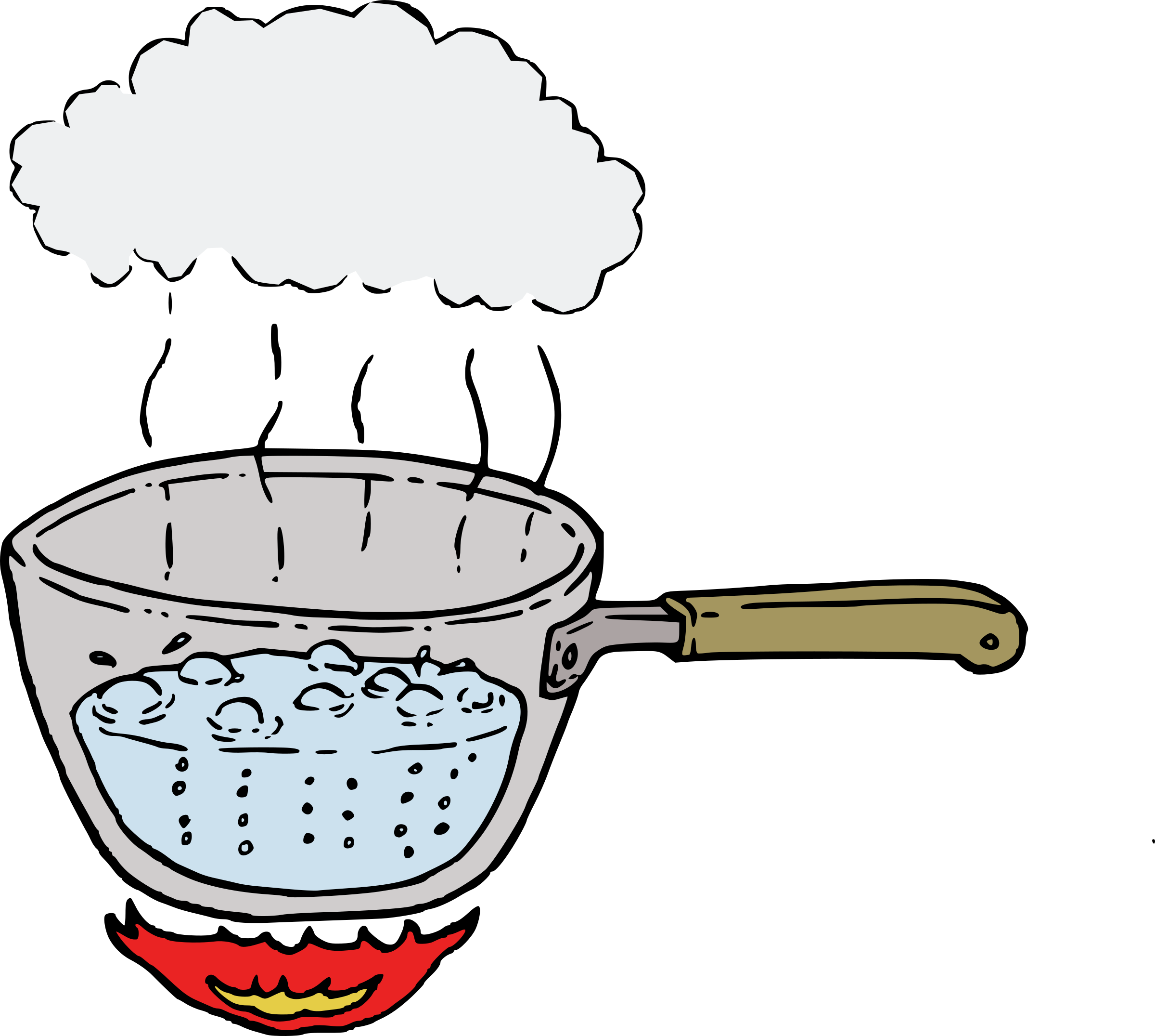 Evaporation drawing. Boiling water at getdrawings