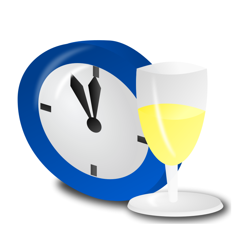 Eve clipart clock. New year s images
