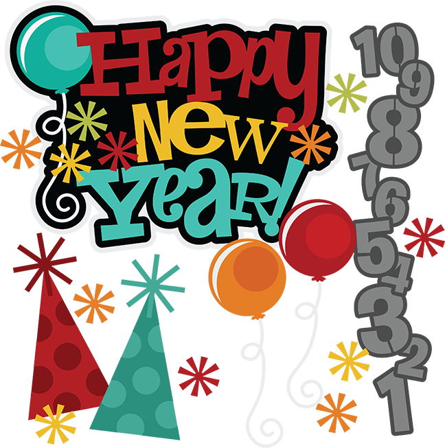 Eve clipart cute. Happy new year svg
