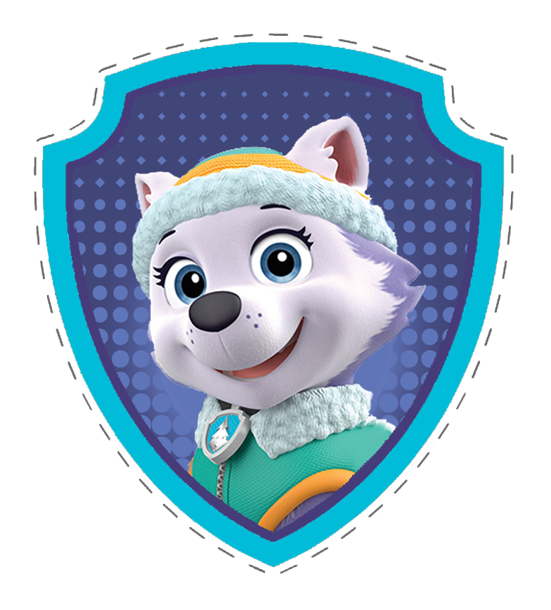 Everest paw patrol png. Badge pinterest and everestbadgepngpng