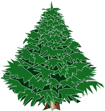 Evergreen clipart pine sprig. Free picture of tree