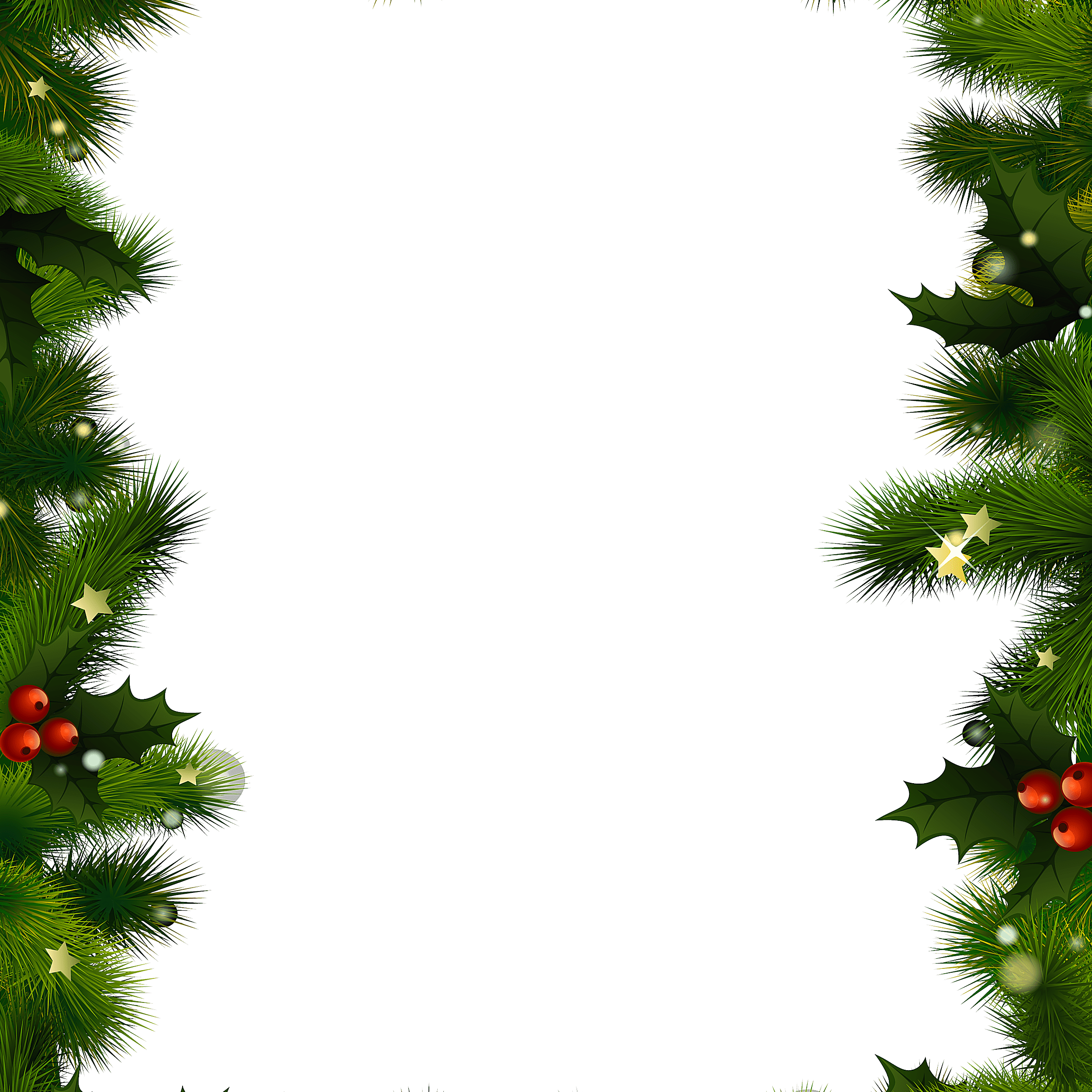 Free and frames a. Christmas borders .png graphic royalty free stock