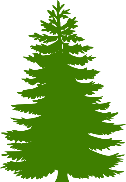 Evergreen clipart snow capped. Cedar panda free images