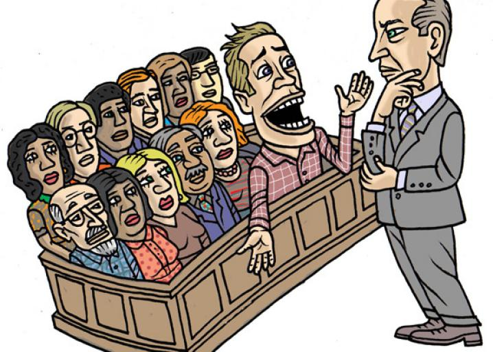 Jury clipart fair trial. The science of getting