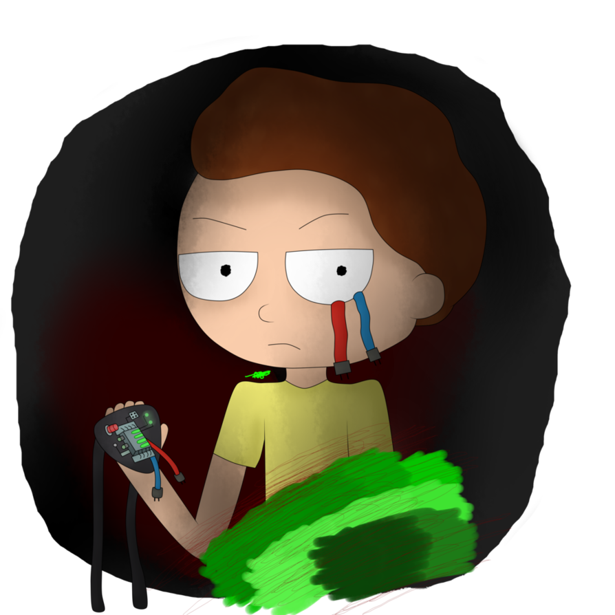 Evil morty png. Rick and fan art
