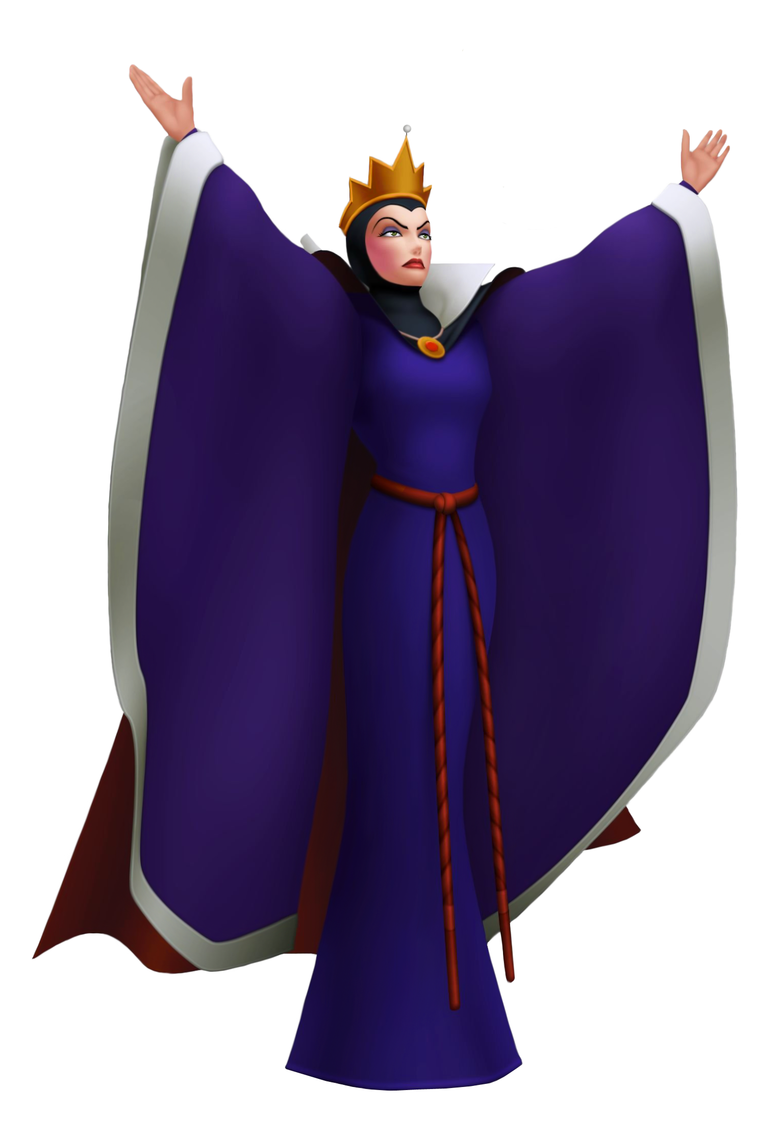 Evil background png. Queen grimhild snow white