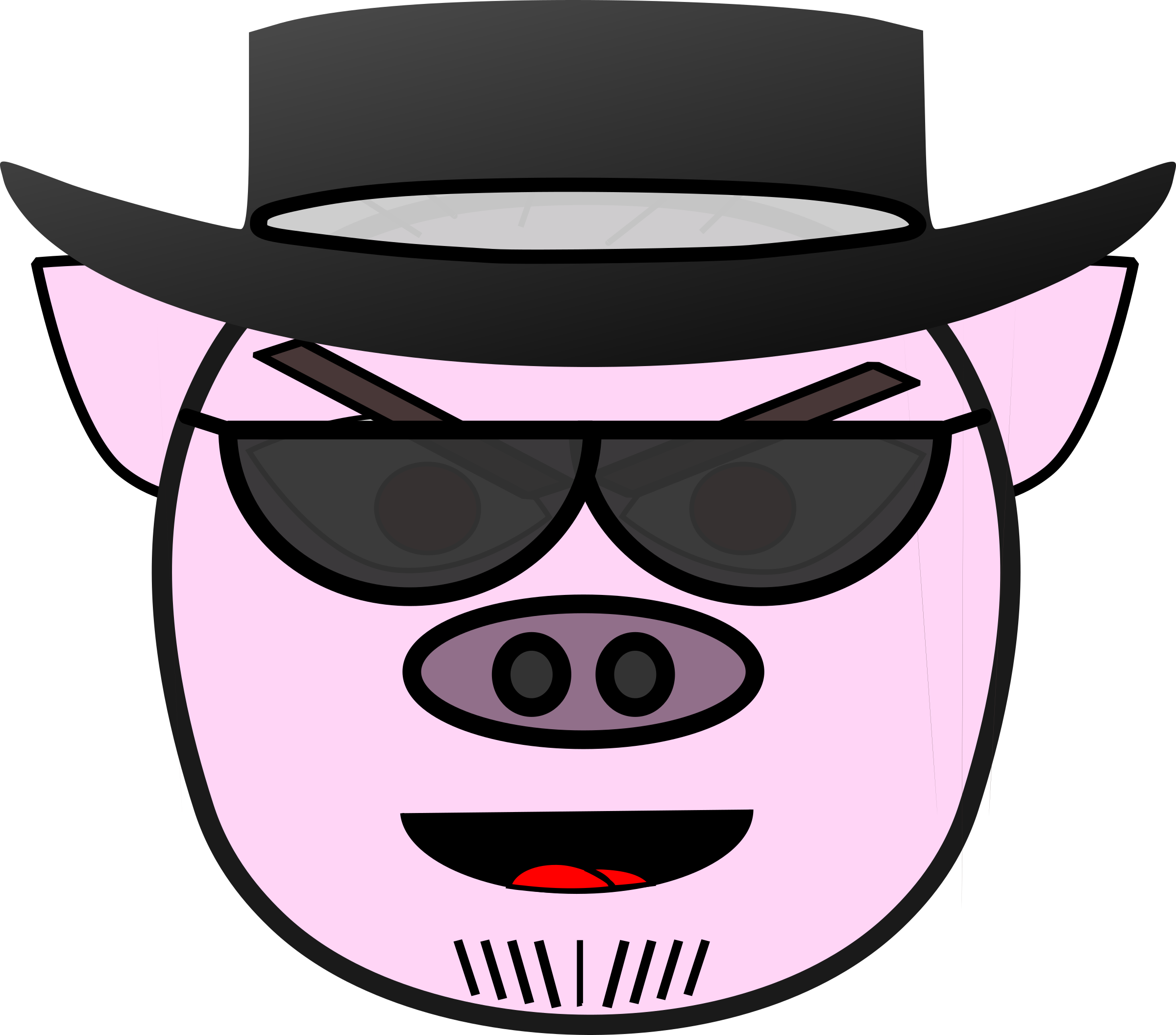 Evil cartoon mouth png. Pig icons free and