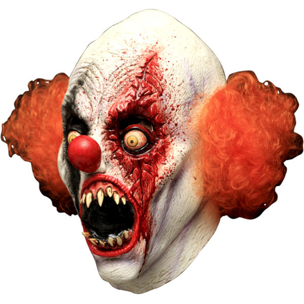 It horror mask terror. Evil clown png clipart royalty free stock