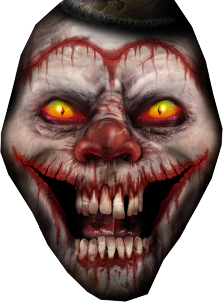 Psd official psds share. Evil clown png picture library