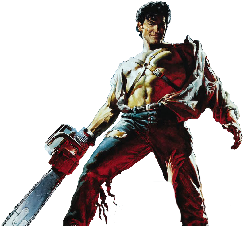 Evil dead png. The ash williams by