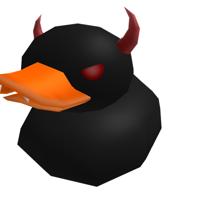 Evil duck png. Big roblox