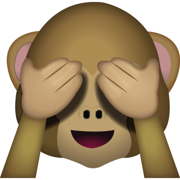 speak no evil emoji png