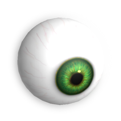 Eyeball png. Image emerald eye monster
