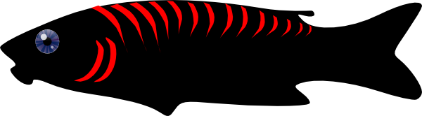 Evil fish png. Clip art at clker