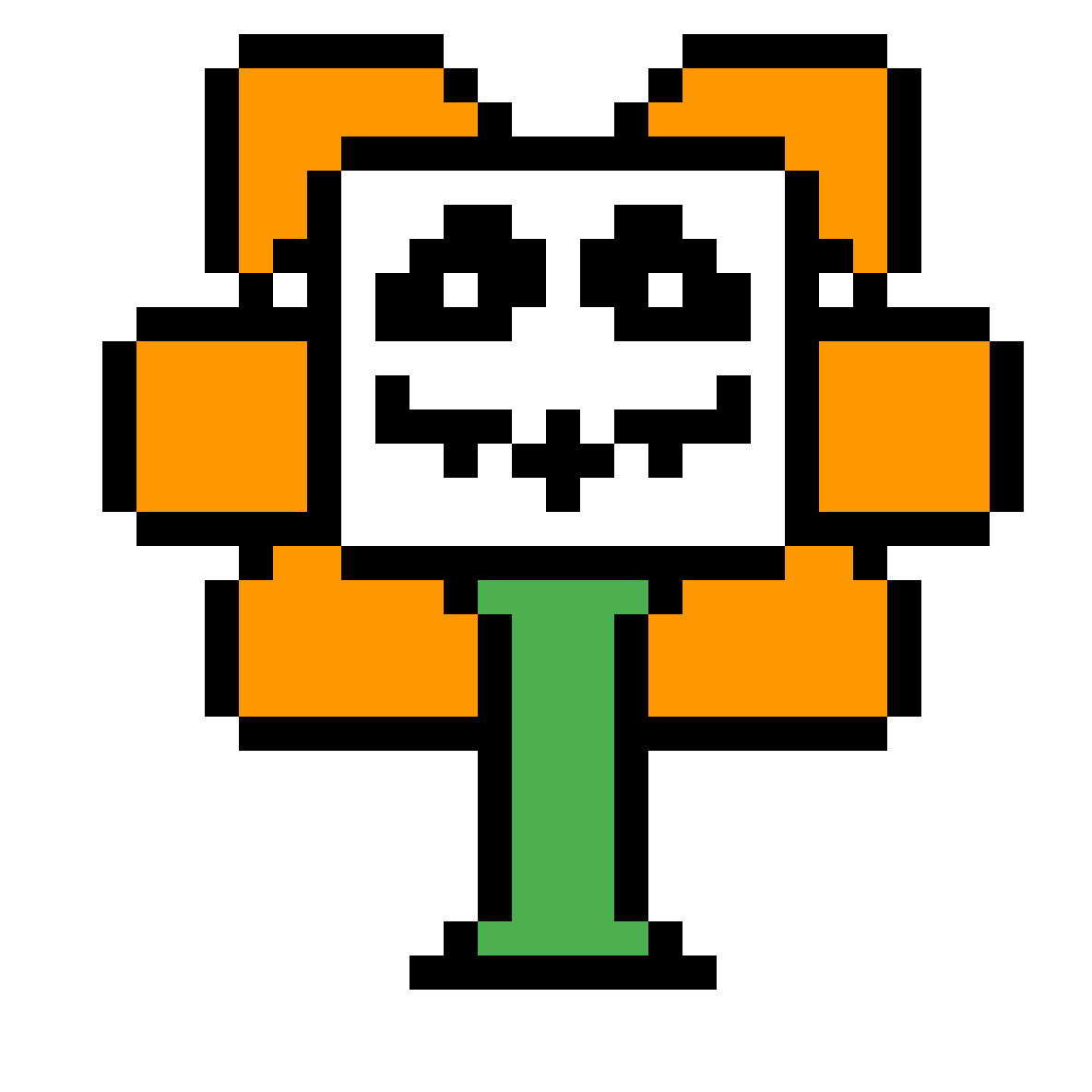 Evil flowey png. Pixilart by anonymous