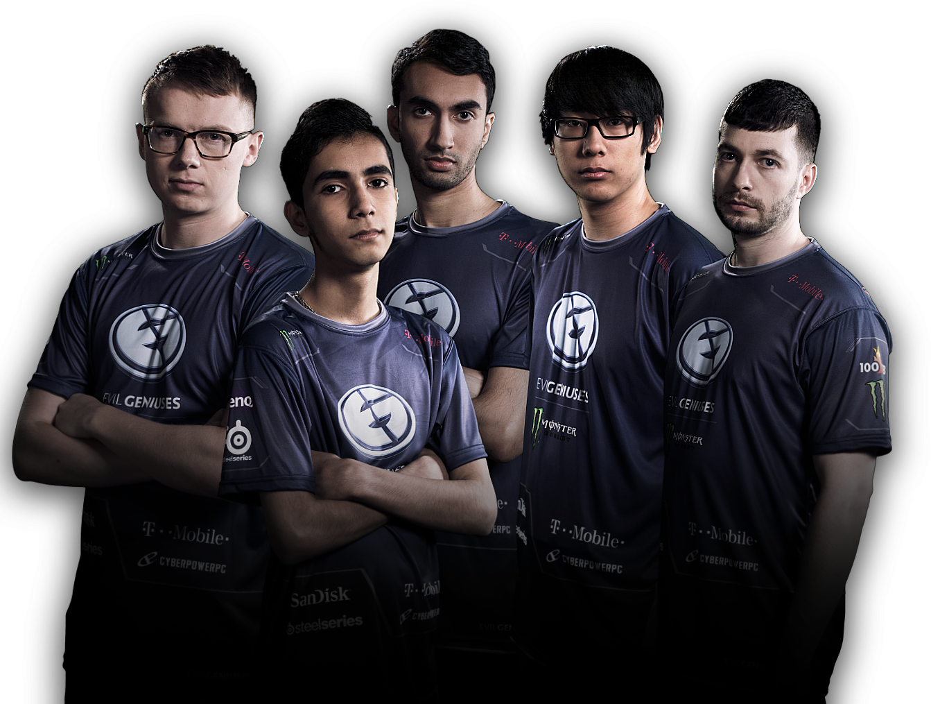 Evil geniuses png. Take home win for