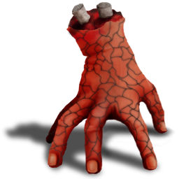Evil hand png. Bad icon dead icons
