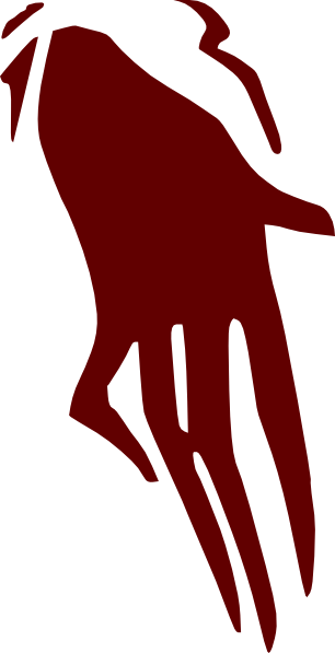 Scary clipart hand. Ghost clip art at