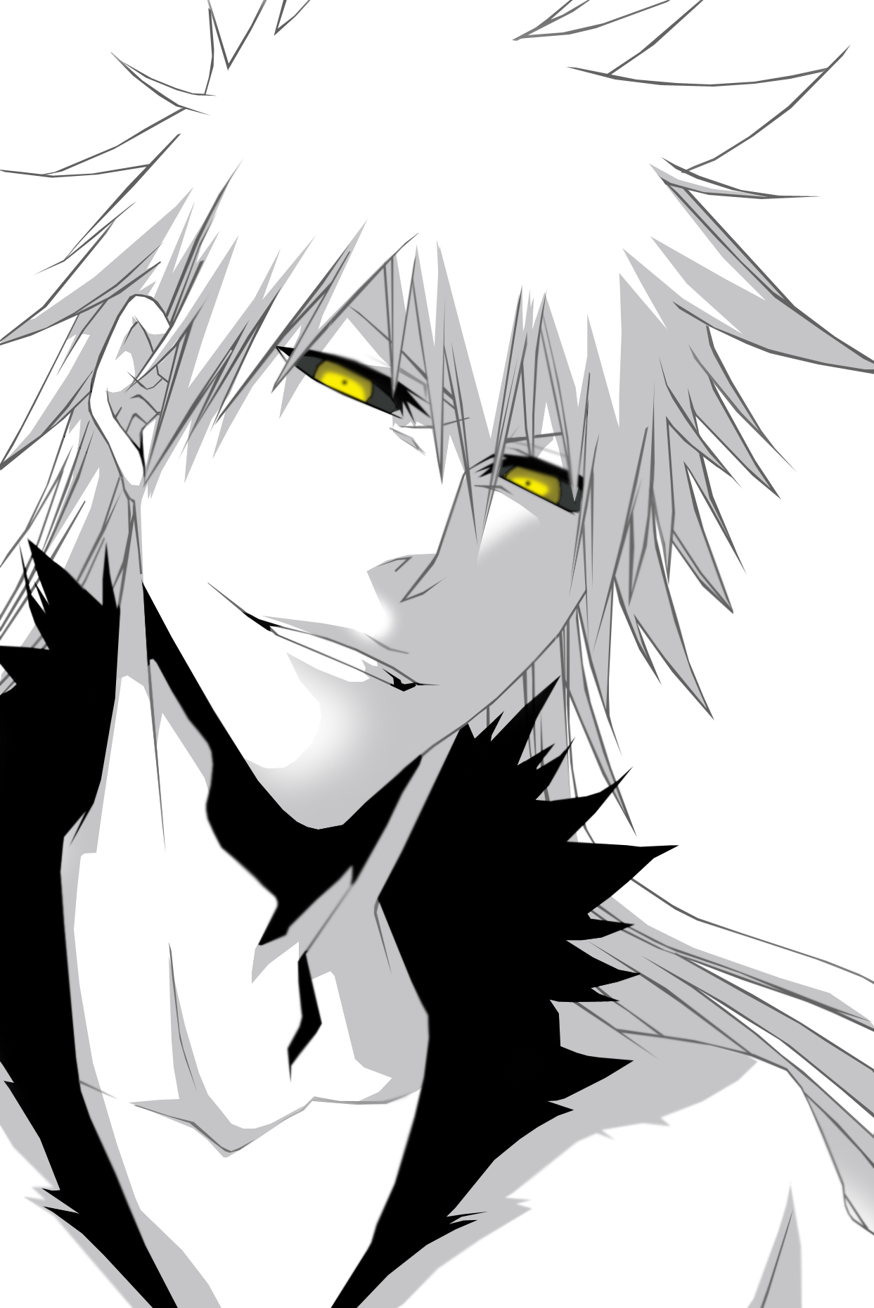 Evil ichigo png. S dark side bleach